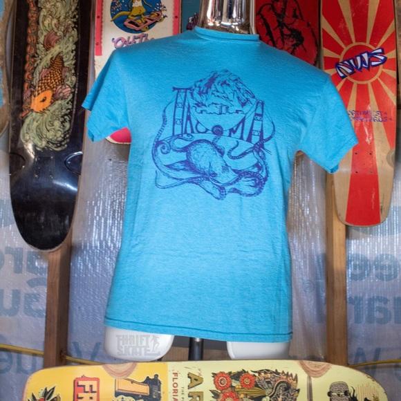 Shroom Bros Other - Blue Shroom Bros Tacoma T-shirt